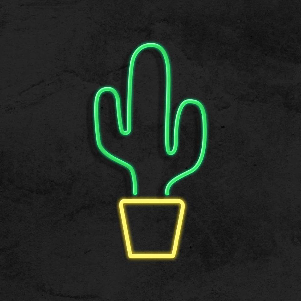 cactus neon led chambre enfant la maison du neon
