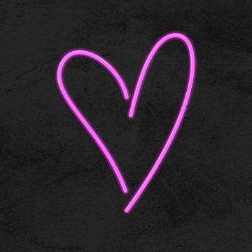 coeur neon led la maison du neon