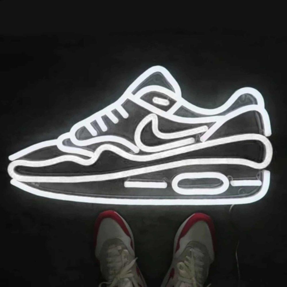 Air Max 1 neon LED La Maison du Neon