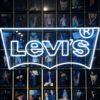 Enseigne lumineuse LEVIS en néon LED