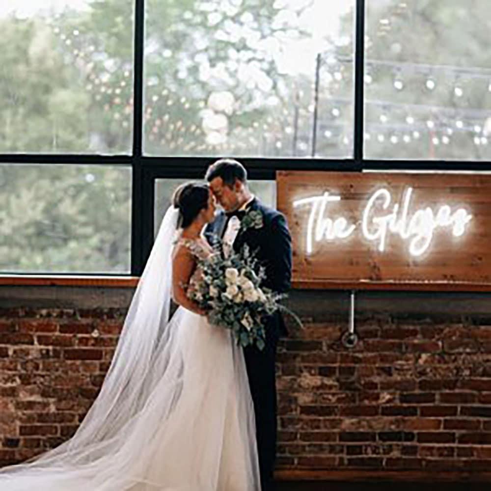 Neon LED mariage pour The Gilgez