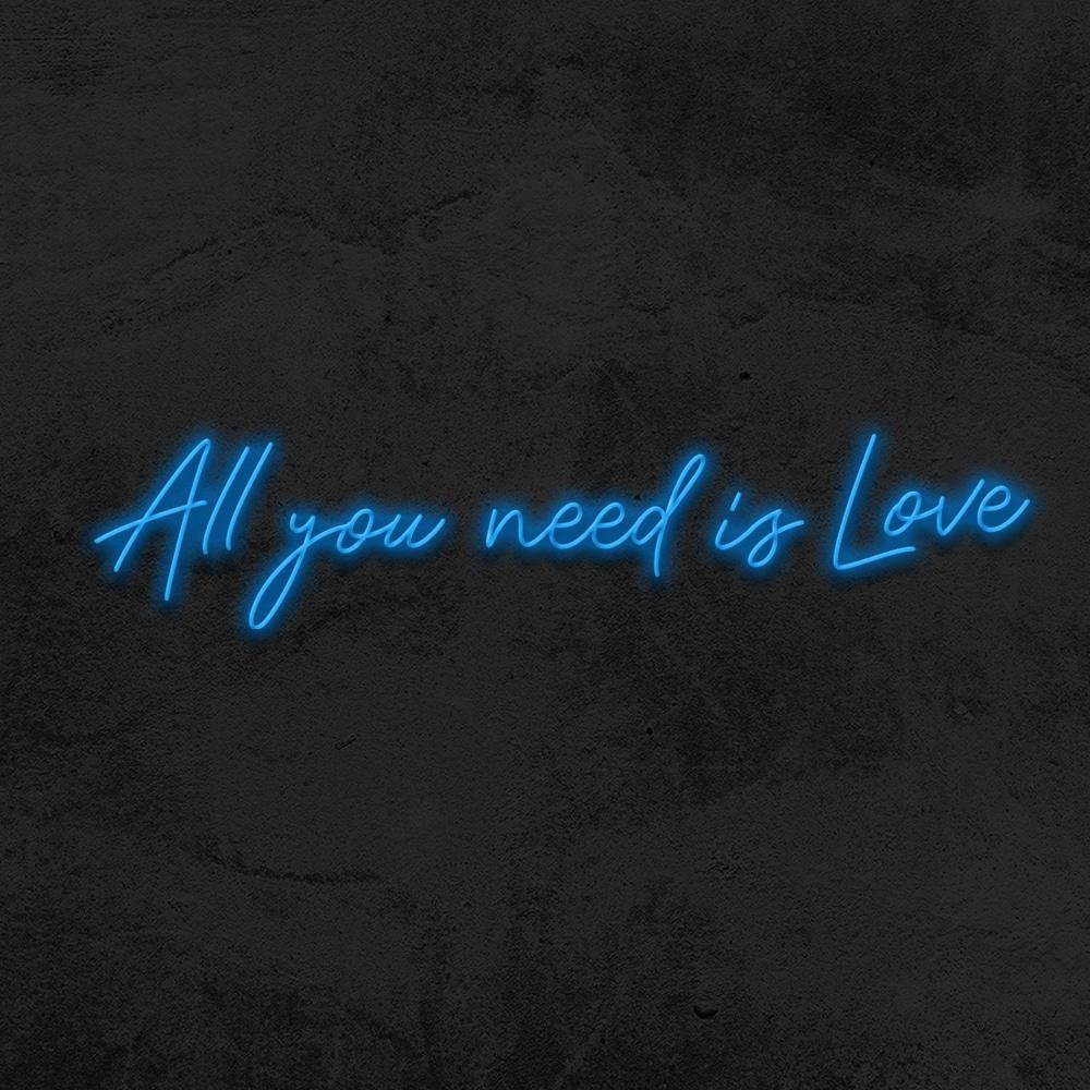 all you need is love neon pour mariage la maison du neon