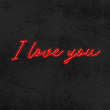 i love you neon led mariage la maison du neon
