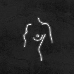 corps de femme neon led deco la maison du neon