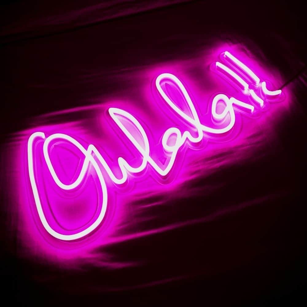 néon Oh lala Oulala la maison du néon