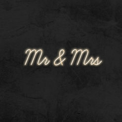 mr and mrs neon led mariage la maison du neon