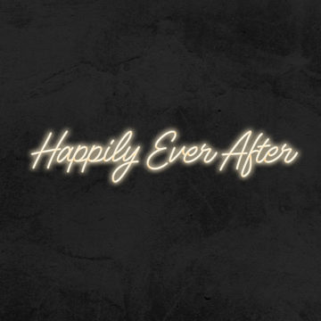 happily ever after neon led mariage la maison du neon
