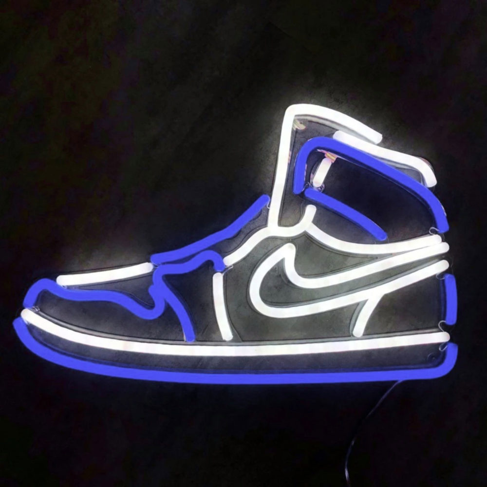 Air Jordan 1 Neon Led La Maison du Neon