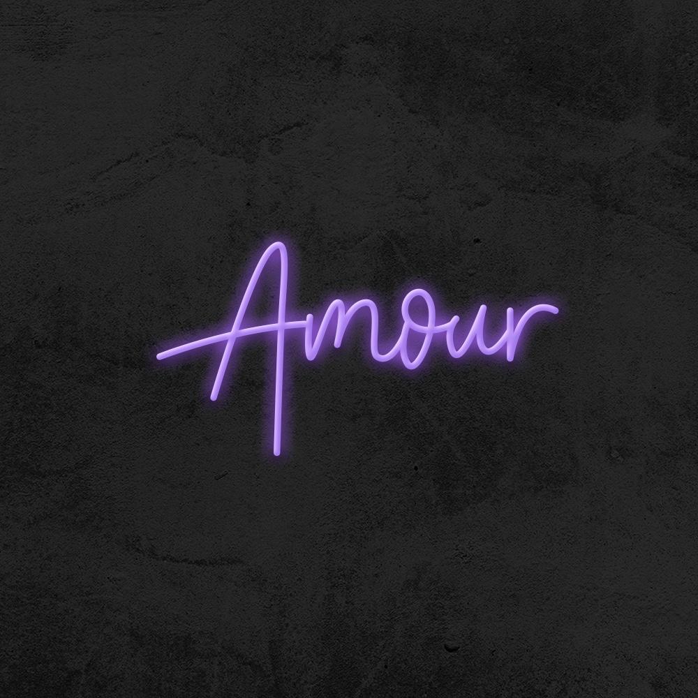 Amour neon home decor La maison du neon