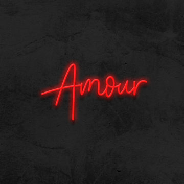 Amour neon home decor La maison du neon