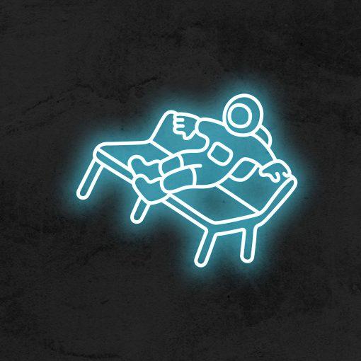 astronaute neon led deco la maison du neon