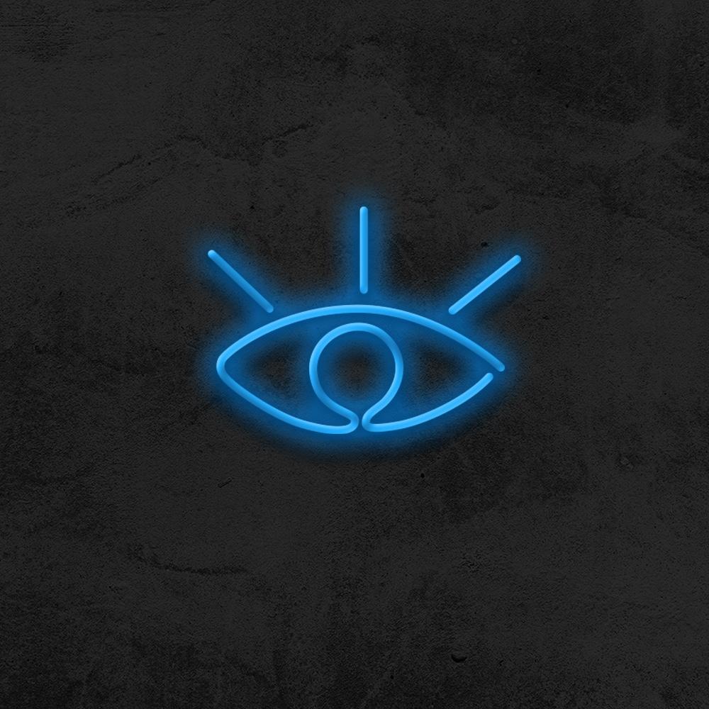 eye neon led deco la maison du neon