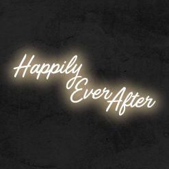 Happily Ever After neon lec la maison du neon