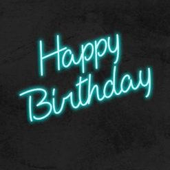 happy birthday neon led party anniversaire la maison du neon