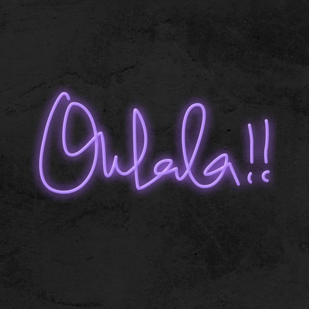 ohlala neon led deco la maison du neon