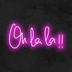 Oh lala!! neon led deco la maison du neon