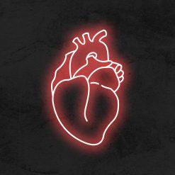 coeur reel neon led deco la maison du neon