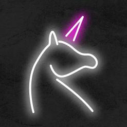 Licorne neon led la maison du neon
