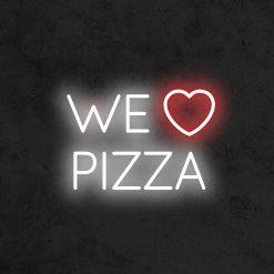 We love pizza neon led restaurant la maison du neon