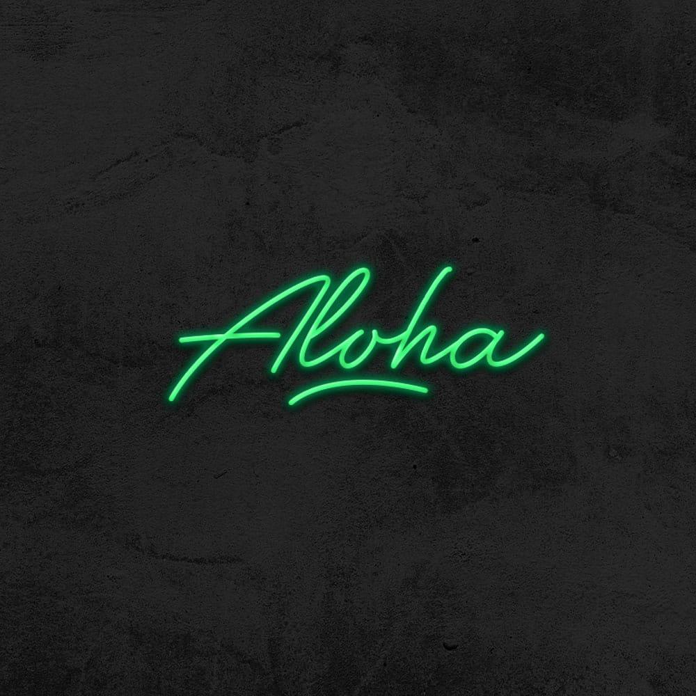 aloha neon home decor la maison du neon