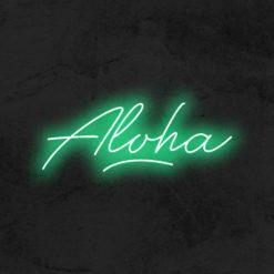 aloha neon led la maison du neon