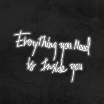néon everything you need is inside you
