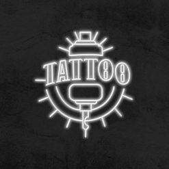 enseigne tattoo neon led tatouage la maison du neon