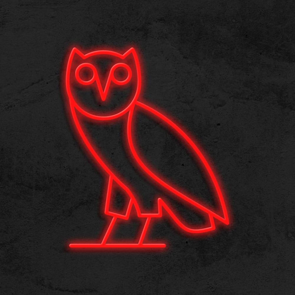 OVO neon LED Drake la maison du neon