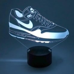 lampe led nike air max 1 sneaker basket la maison du neon