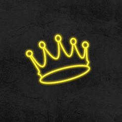 néon couronne led néon deco chambre enfant la maison du neon