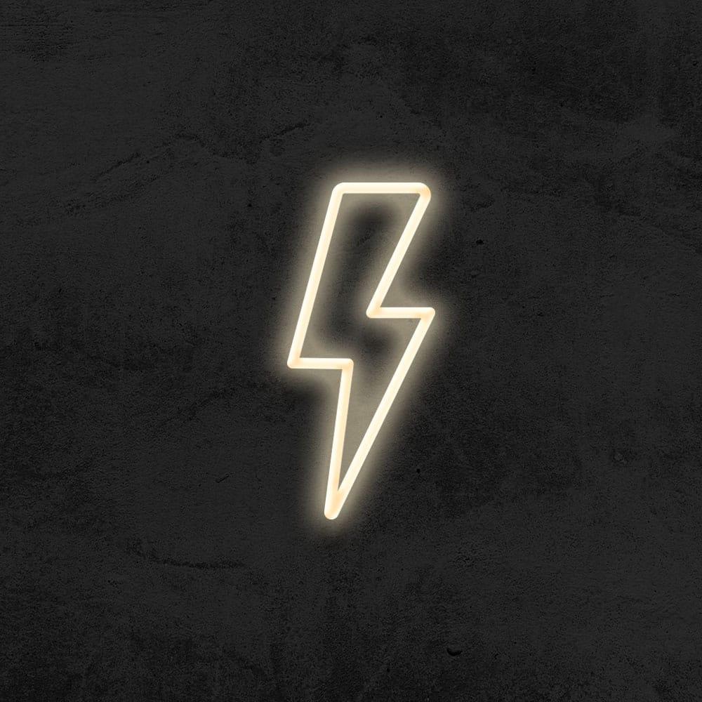 neon eclair led néon déco chambre enfant la maison du néon