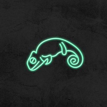 neon cameleon deco chambre enfant la maison du neon