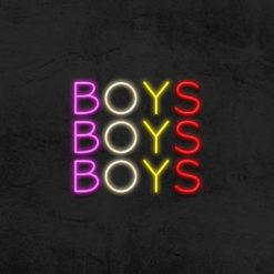 néon boys boys boys led néon deco la maison du néon