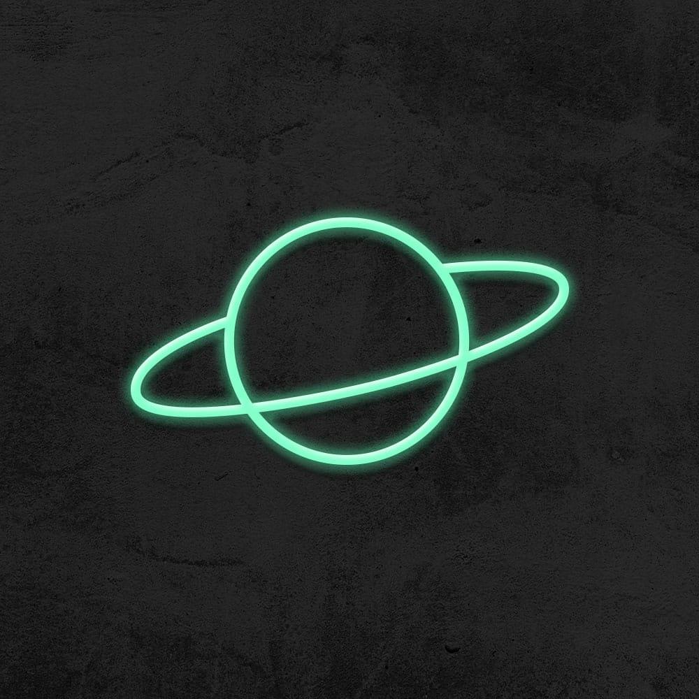 néon planete led neon deco chambre enfant la maison du neon