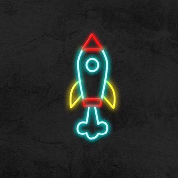 néon fusée neon led deco chambre enfant la maison du neon