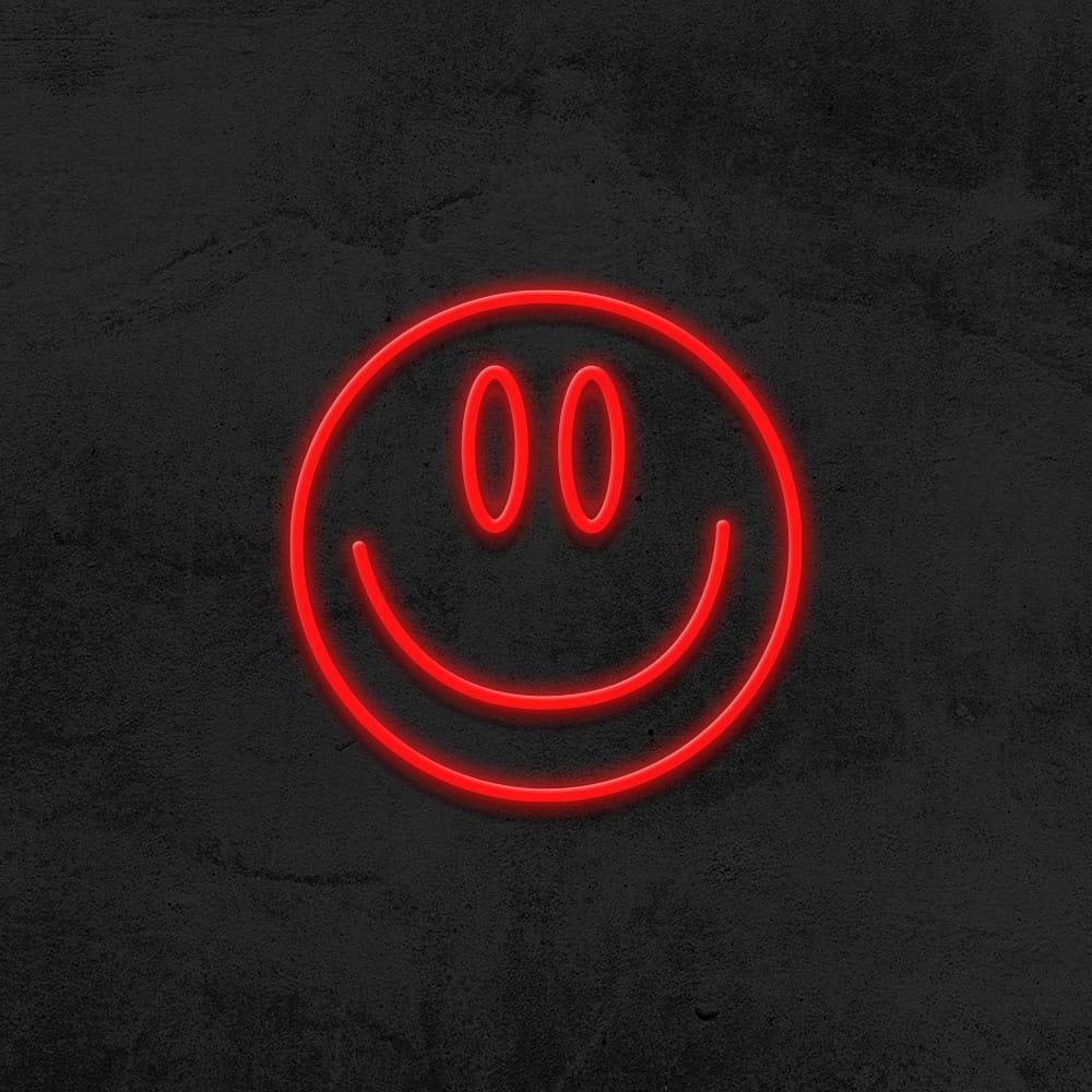 neon smiley LED deco hype la maison du neon