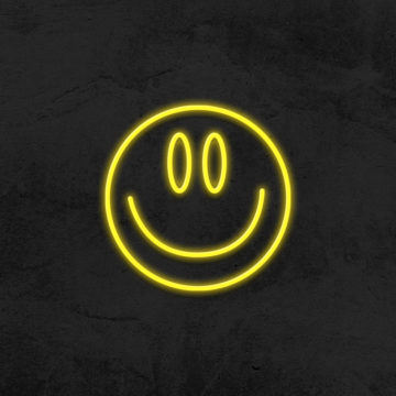 neon smiley LED deco hype la maison du neon