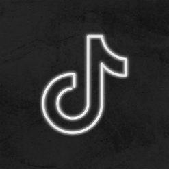neon logo tiktok led deco hype la maison du neon