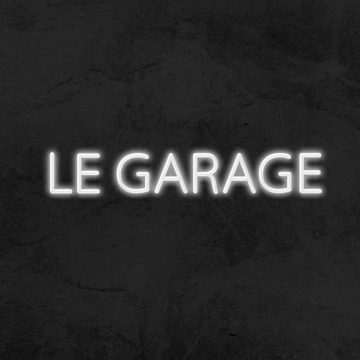 Néon led le garage