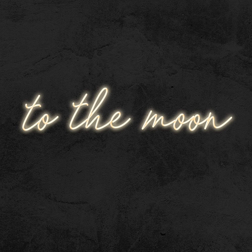 néon to the moon