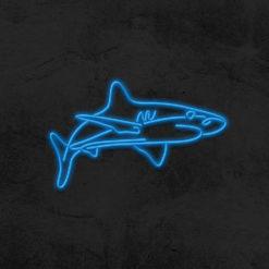 néon requin led déco la maison du neon
