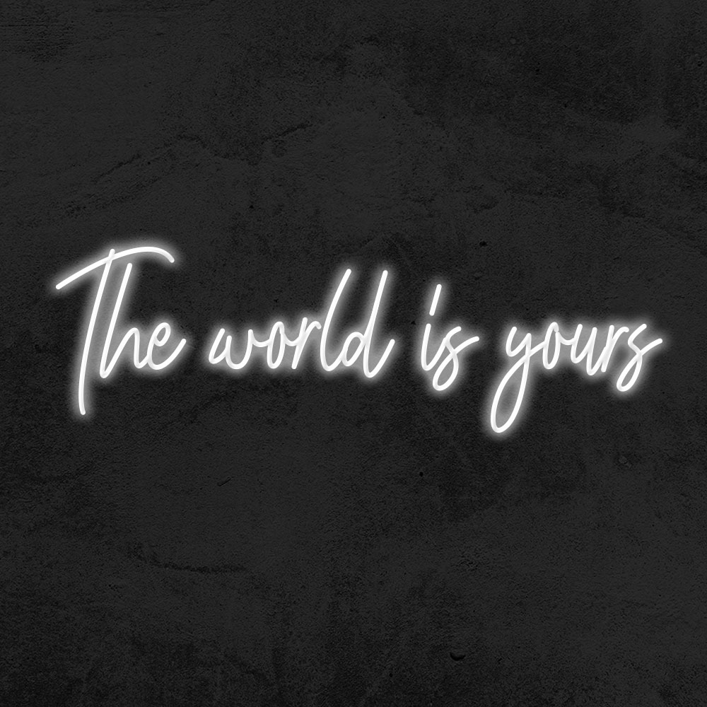 néon the world is yours