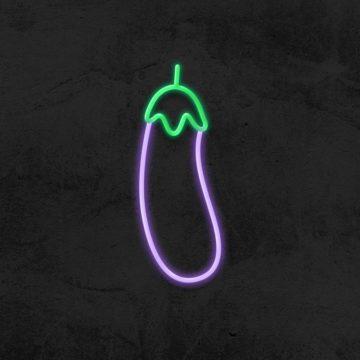 néon aubergine led déco la maison du néon