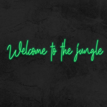 néon welcome to the jungle