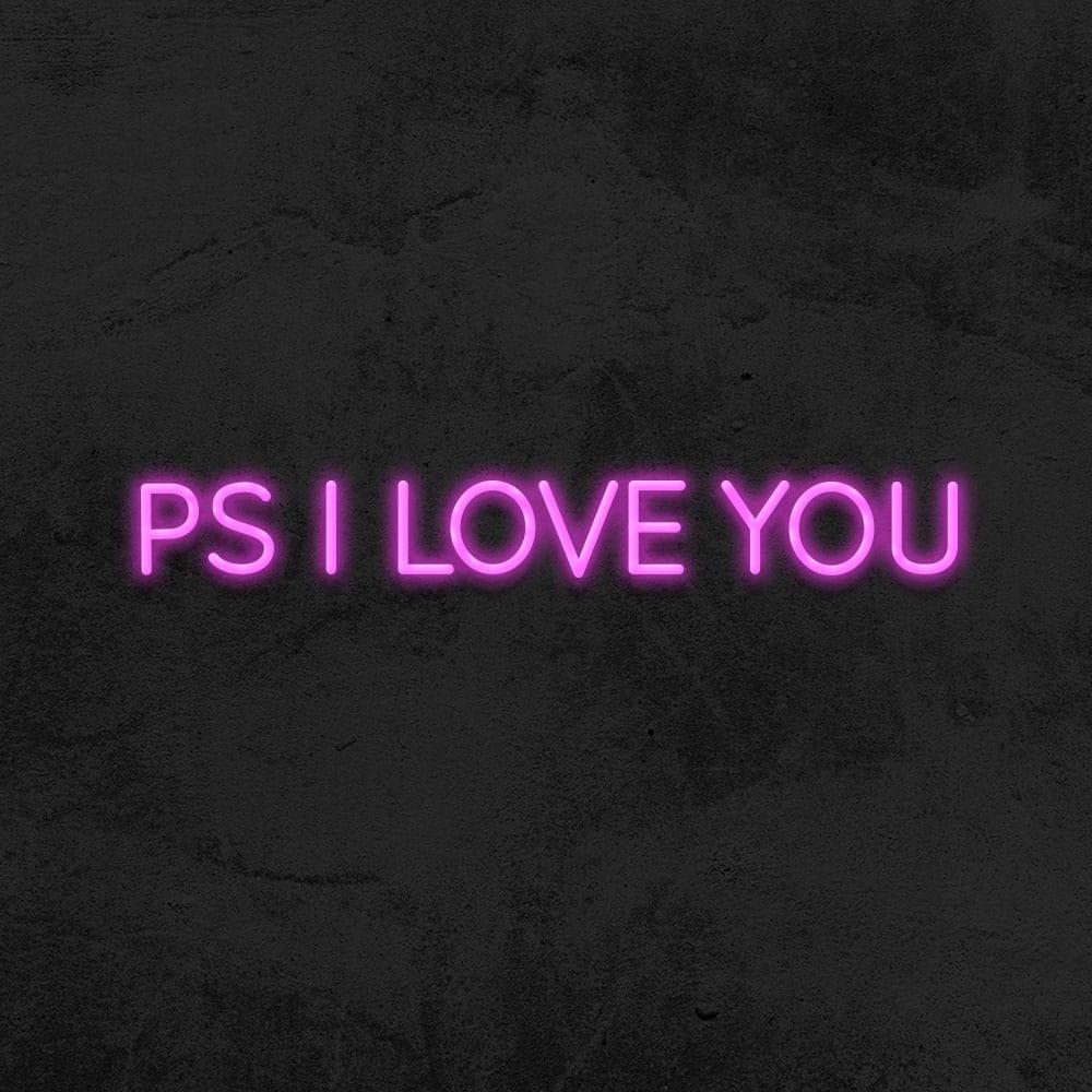 néon ps i love you
