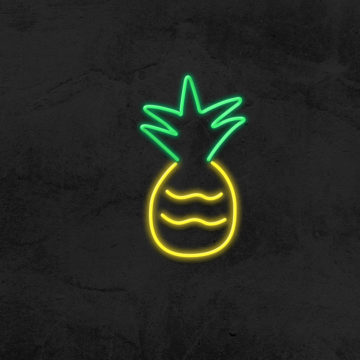 néon led ananas
