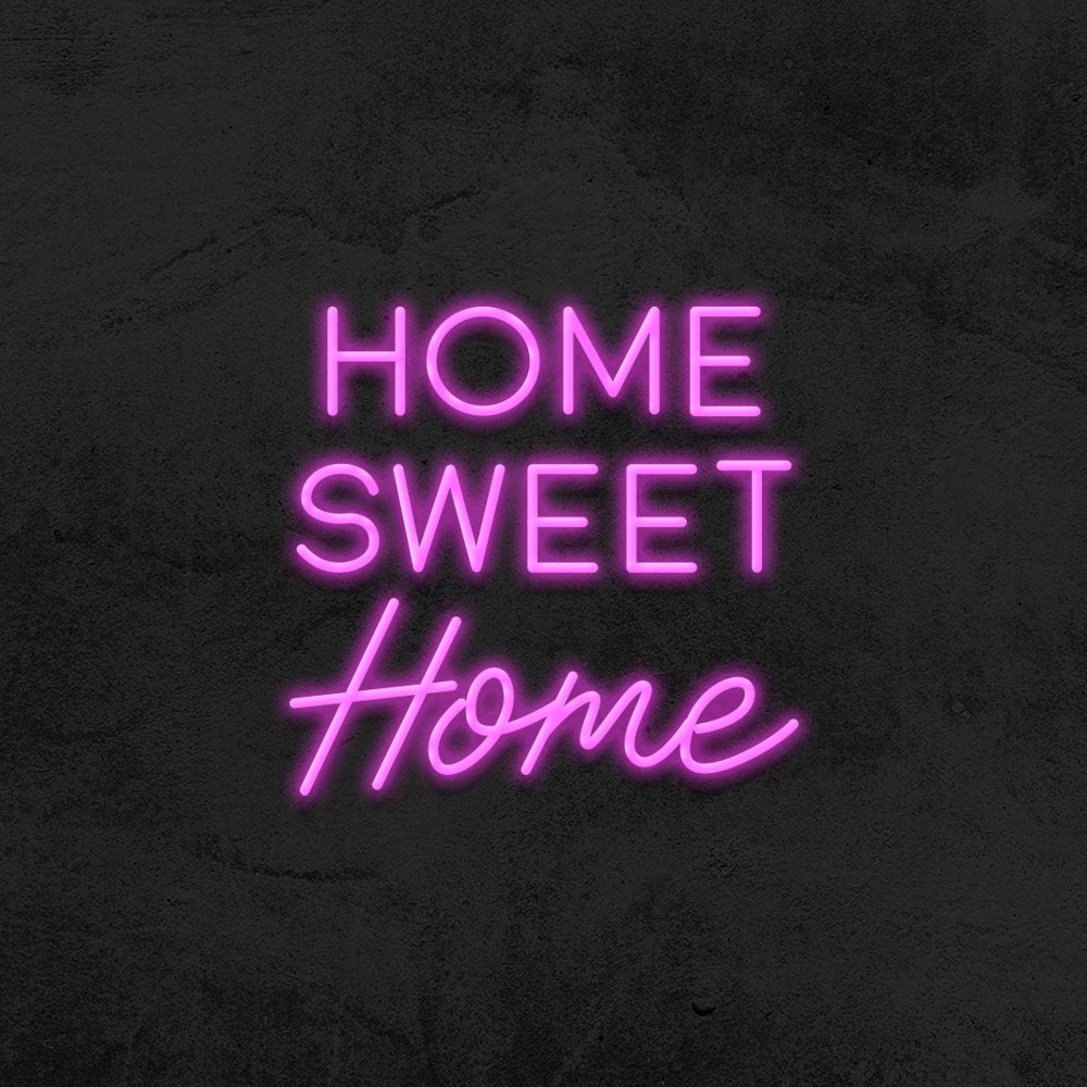néon home sweet home