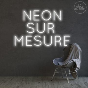 Néon led sur mesure