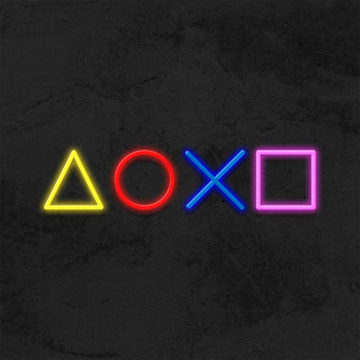 Neon Gaming Playstation