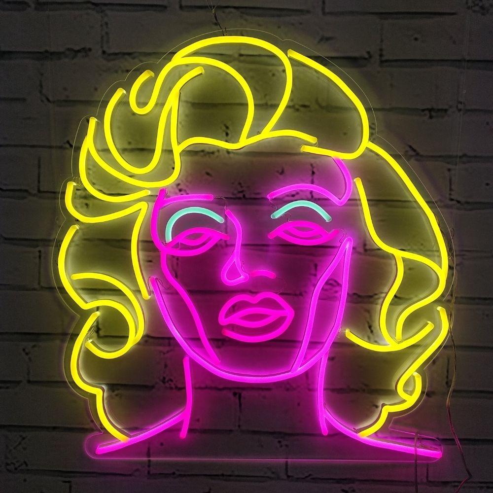 neon sur mesure déco la maison du neon